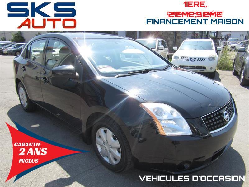 Nissan Sentra 2008 80 273 KM(GARANTIE 2 ANS INCLUS)FINANCEMENT MAISON #SKS-4461-1