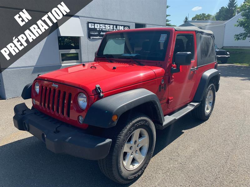 Jeep Wrangler 2014 4WD 2dr Sport #D4679B