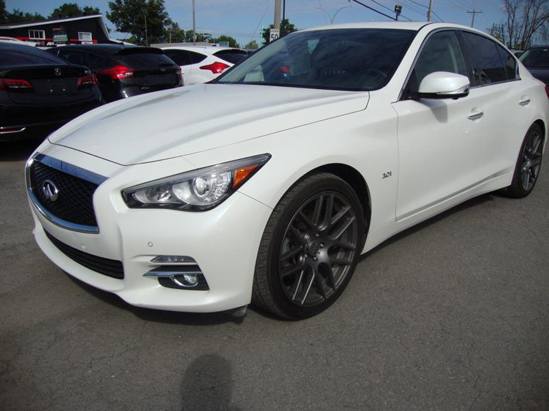 2016 Infiniti Q50 3.0t 19MAGS-360 CAMERA-NAVIGATION-TECH PCKG #S004