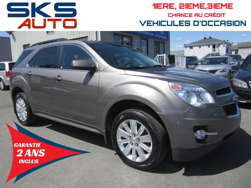 2010 Chevrolet Equinox AWD (GARANTIE 2 ANS INCLUS) FINANCEMENT MAISON #SKS-4465-