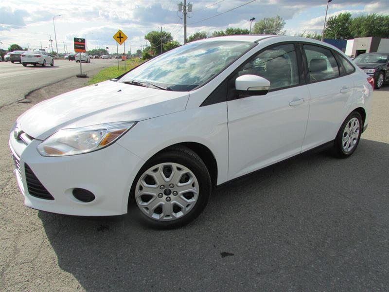 Ford FOCUS 2013 SE MAN. A/C BLUETOOTH TOIT!!! #4711
