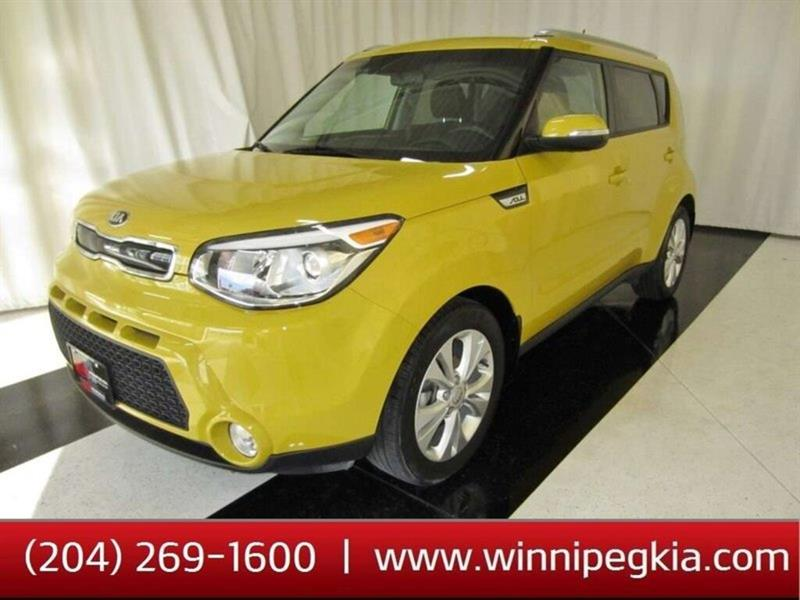 2015 Kia Soul EX+ *Incredibly Low Kilometers!* #15SO916