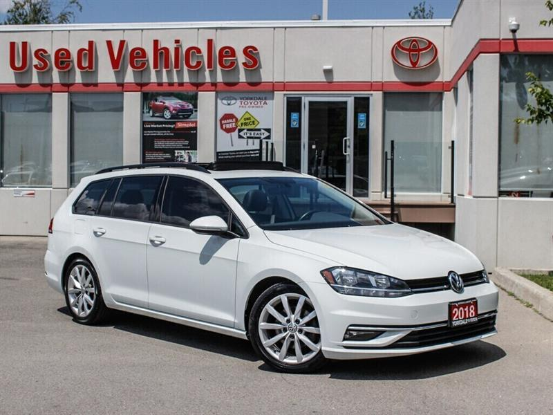 2018 Volkswagen Golf SportWagen 1.8 TSI Comfortline   AWD   BCKP. CAM   MOON ROOF #9195501A