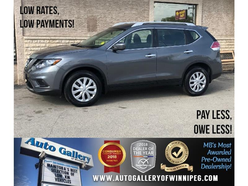 2016 Nissan Rogue S *AWD/Bluetooth/Backup Cam #24047