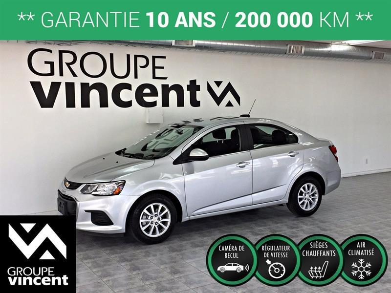 Chevrolet Sonic 2018 LT ** GARANTIE 10 ANS ** #KK3107H