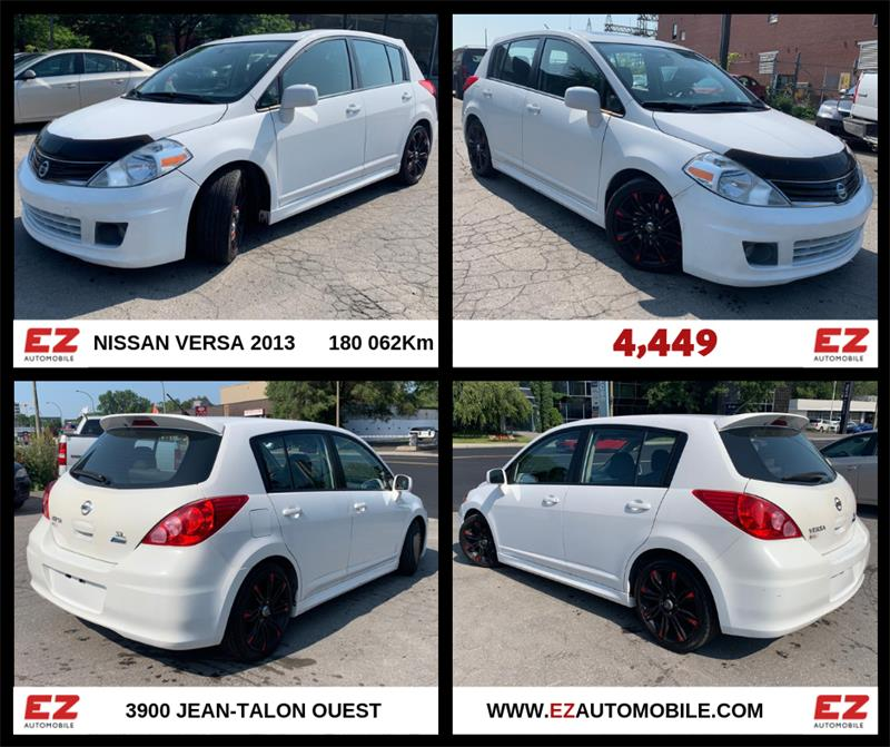 Nissan Versa 2012 5dr HB I4 1.8