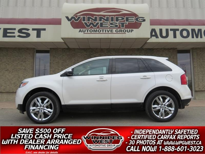 2014 Ford EDGE SEL AWD , PAN ROOF, NAV, HTD LEATHER, LOCAL TRADE! #GNW5215