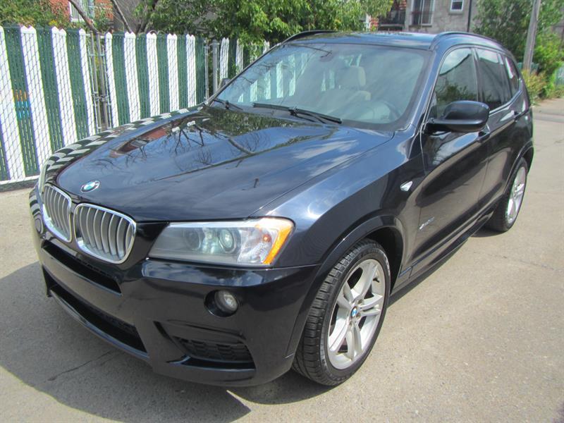 BMW X3 2014 AWD**PAY WEEKLY $79 SEMAINE #2490 **983691