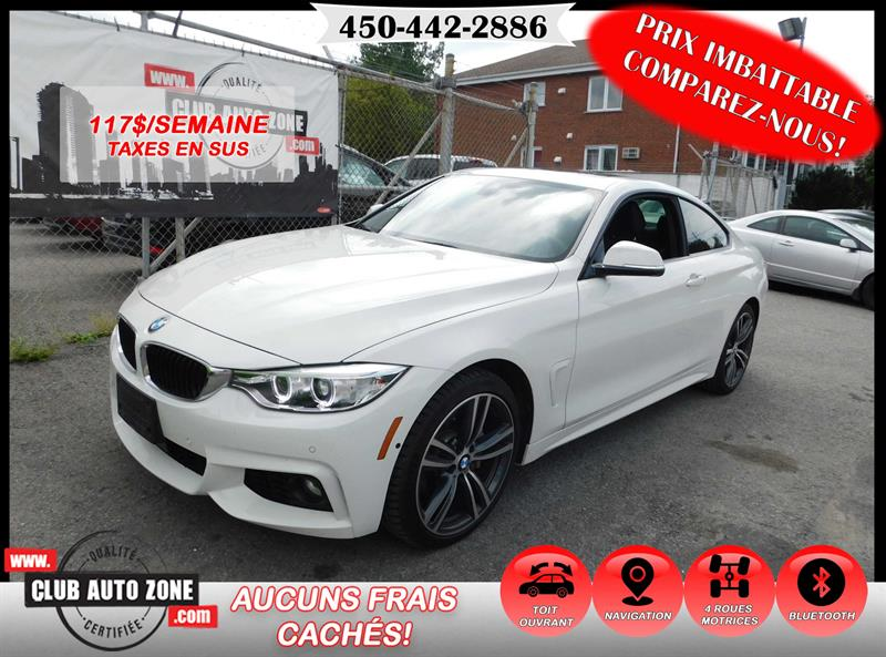 2016 BMW 4 Series COUPÉ AWD M PACKAGE NAVIGATION #GK374628