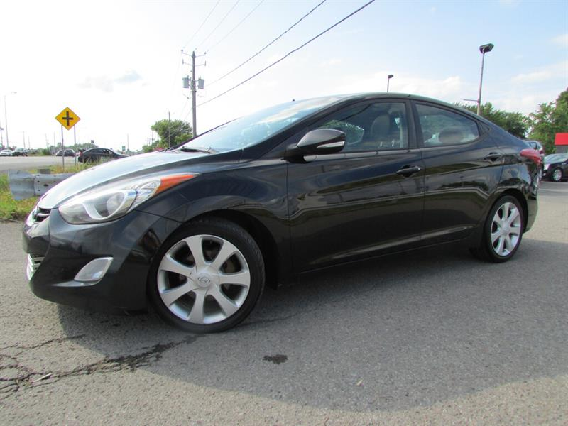 Hyundai Elantra 2012 Limited NAVI BLUETOOTH TOIT OUVRANT!! #4715