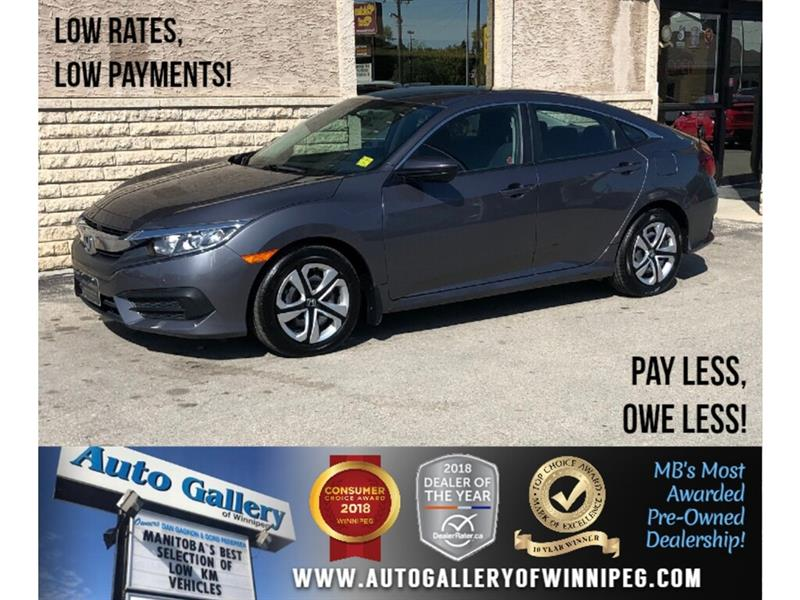 2018 Honda Civic Sedan LX *Bluetooth/Backup Cam/Htd Seats #24057