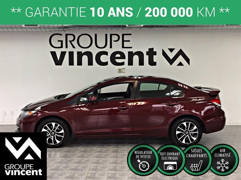 Honda Civic 2013 EX ** GARANTIE 10 ANS ** #H3197CM-V