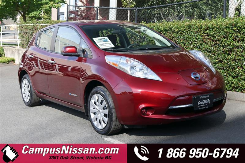 2017 Nissan Leaf S FWD w/ Quick-Charge & 30 kWh Battery #JN3301