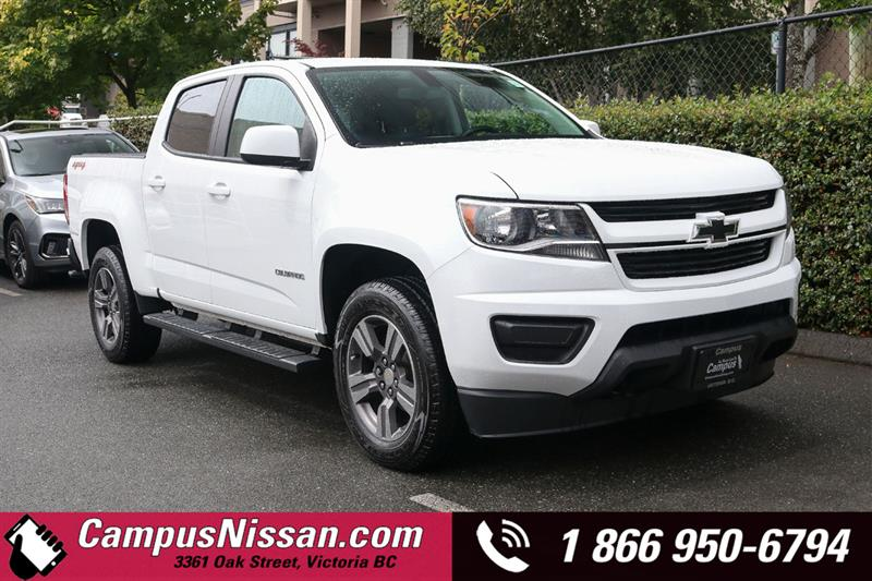 2018 Chevrolet Colorado WT 4WD w/ Tow Package #9-C080A
