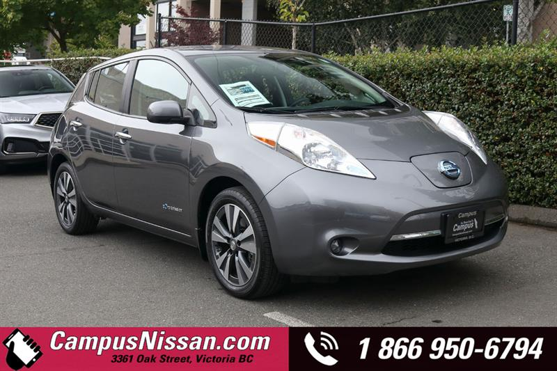 2016 Nissan Leaf SV FWD w/ Quick-Charge Prem-Tech & 30 kWh Battery #JN3358