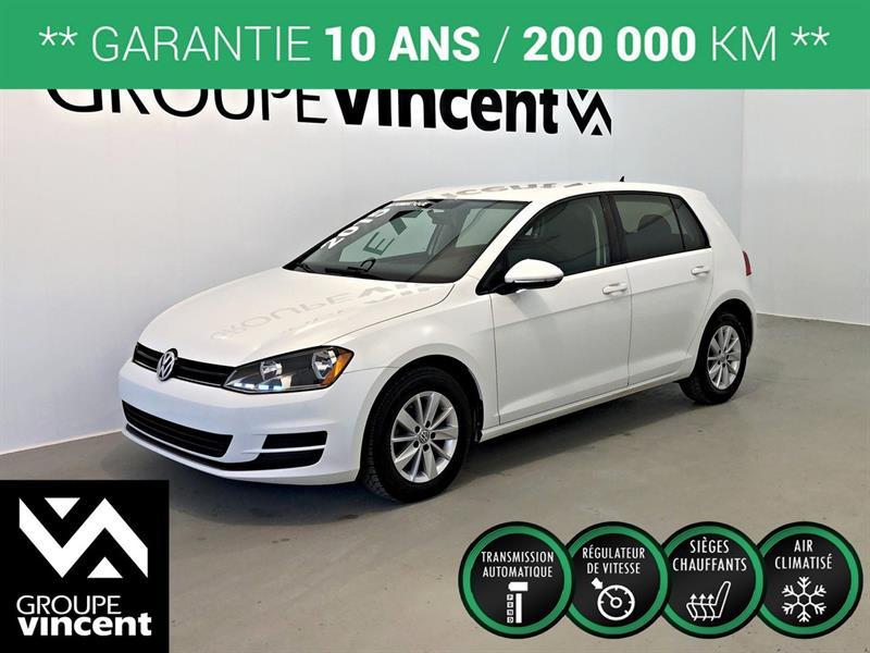 Volkswagen Golf 2015 TRENDLINE TSi ** GARANTIE 10 ANS ** #757AT