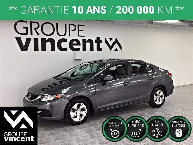 Honda Civic 2013 LX ** GARANTIE 10 ANS ** #K3055AH-V