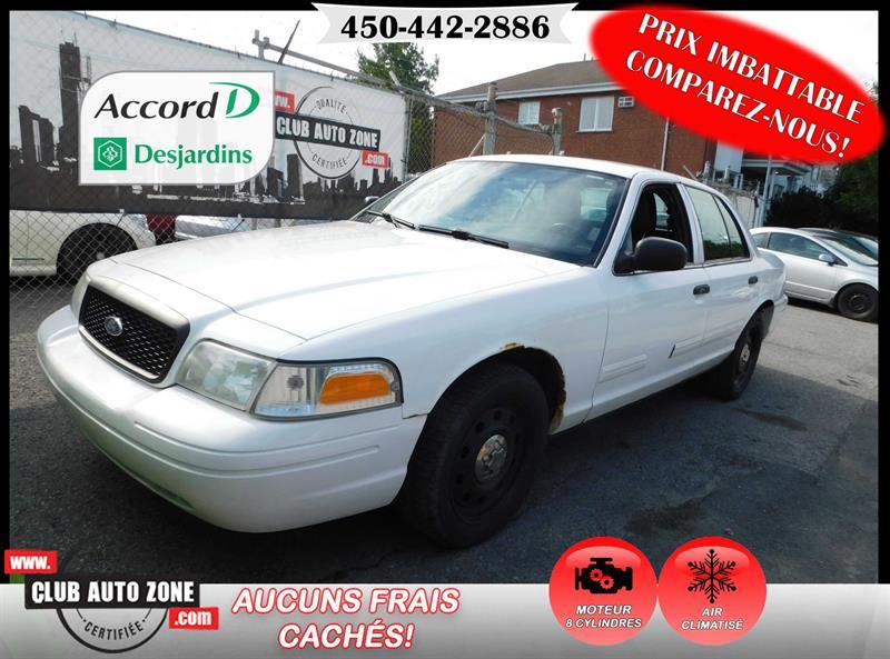 Ford Police Interceptor 2011 AIR CLIMATISÉ V8 4.6L #BX124666