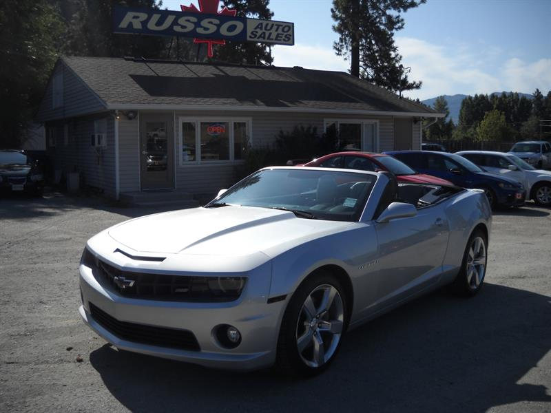 2011 Chevrolet Camaro 2SS CONVERT ONLY 68 KMS #3423