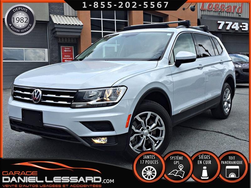 Volkswagen Tiguan 2018 4MOTION, GPS, SIMILICUIR 2 TONS, TOIT PANO, BRUME #89489