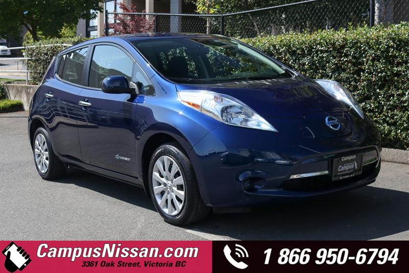 2016 Nissan Leaf S FWD w/ Quick-Charge #JN3364