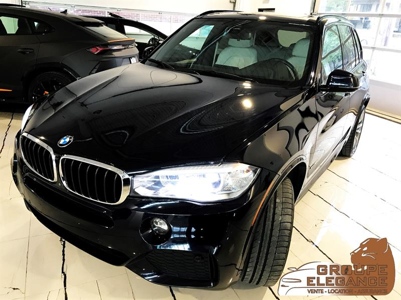 2016 BMW X5 3.5I X DRIVE TECH,PRIVACY, & M PKG PANORAMIC ROOF