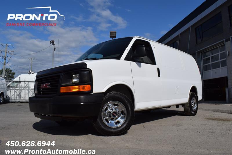 GMC Savana Cargo Van 2014 3500 ** 4.8L ** Full Rack ** Impeccable ** #1967
