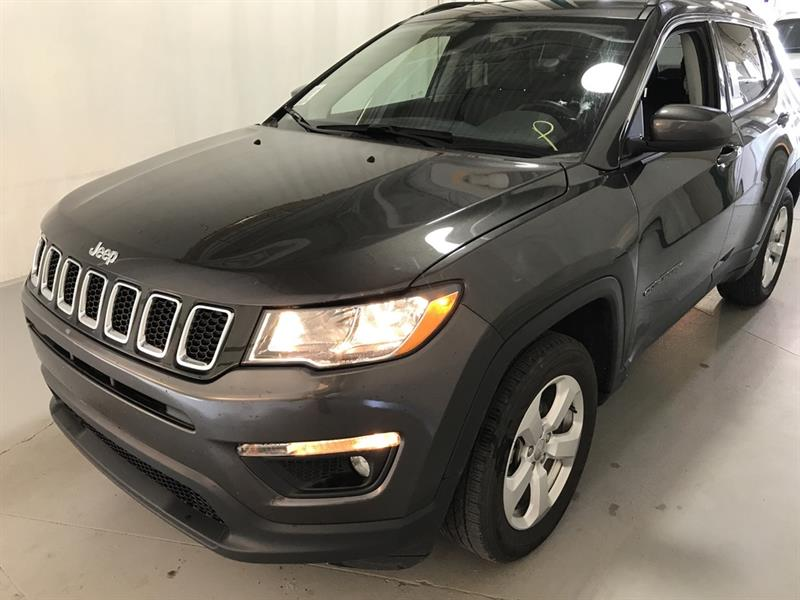 2018 Jeep Compass North *4x4/B.tooth/Back.Cam/Htd Lthr/9Spd Auto #24068