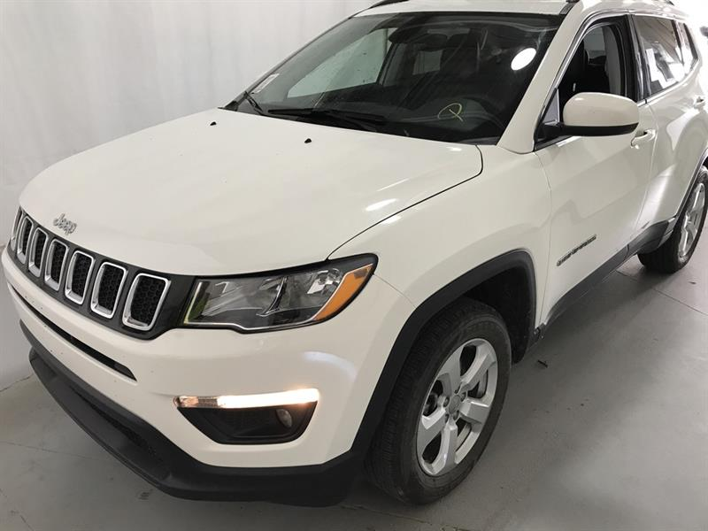 2018 Jeep Compass North *4x4/B.tooth/Back.Cam/Htd Lthr/9Spd Auto #24069