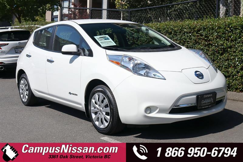 2015 Nissan Leaf S FWD w/ Quick-Charge #JN3338