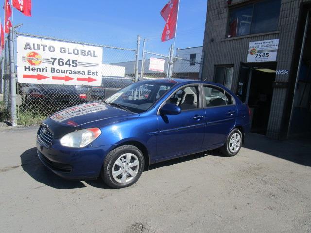 Hyundai Accent 2008 Automatique TRES BAS MILLAGE Groupe Électrique #19-1433