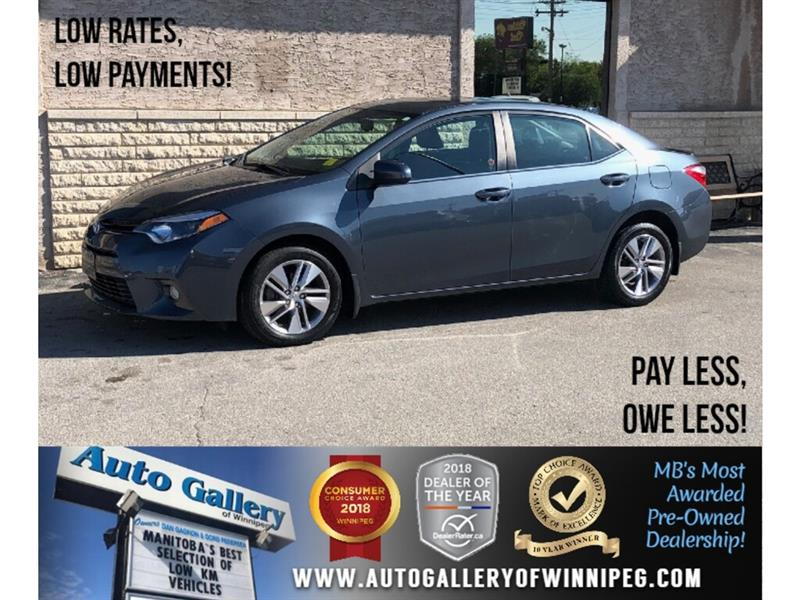 2015 Toyota Corolla LE ECO *1 Owner/Navi/B.tooth/Lthr/Roof #PR-24058