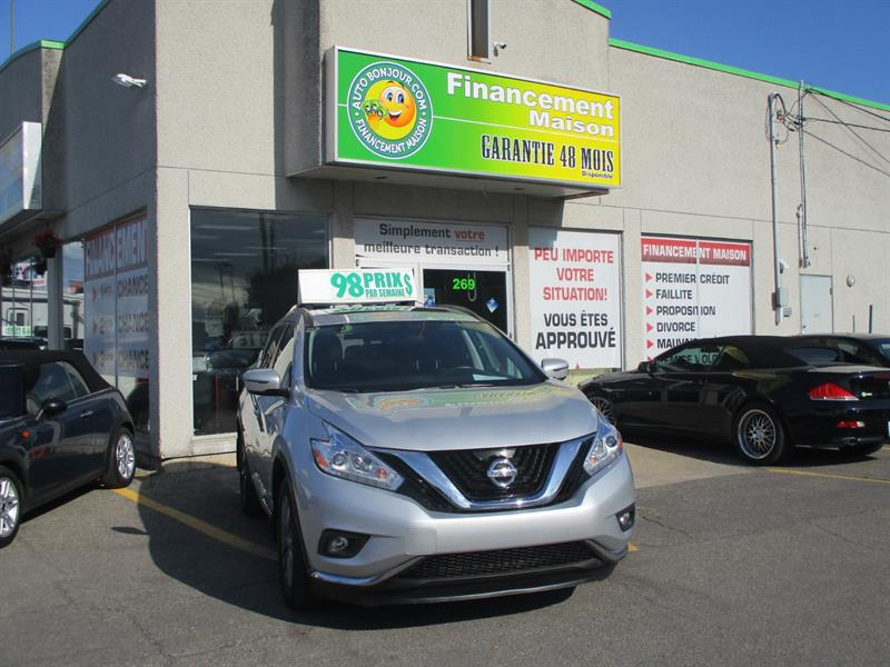 2017 Nissan Murano AWD 4dr #19-199