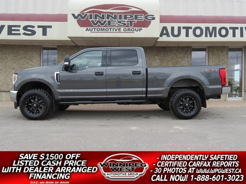 2018 Ford F-250 XLT POWERSTROKE DIESEL CREW 4X4, LOW K, BLUETOOTH! #DW5214