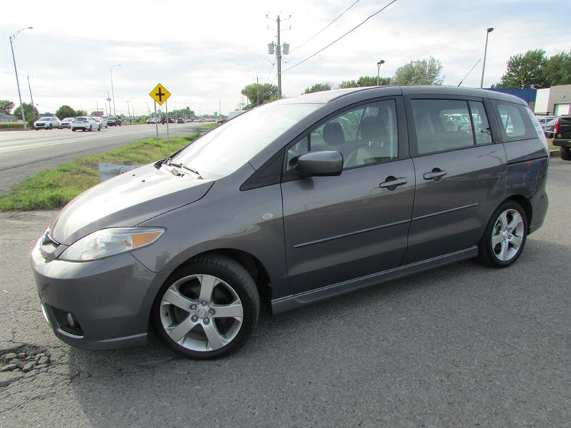 Mazda MAZDA5 2007 GT 6 PASSAGERS TOIT OUVRANT!! #4755
