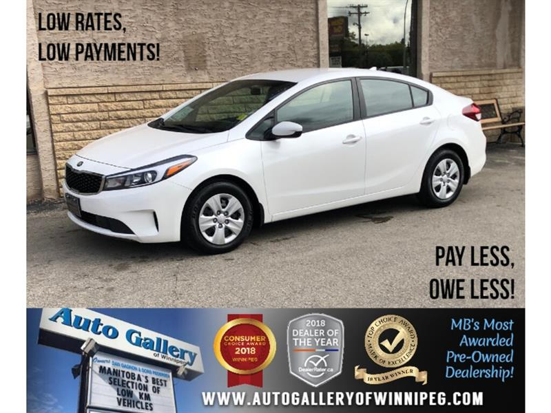 2017 Kia Forte LX *Bluetooth/2.0L/Low KMs #24029