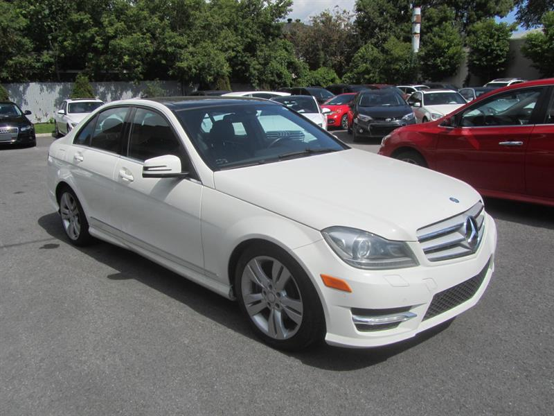 2012 Mercedes-Benz C-Class C300 4MATIC TOIT PANORAMIQUE #4486A