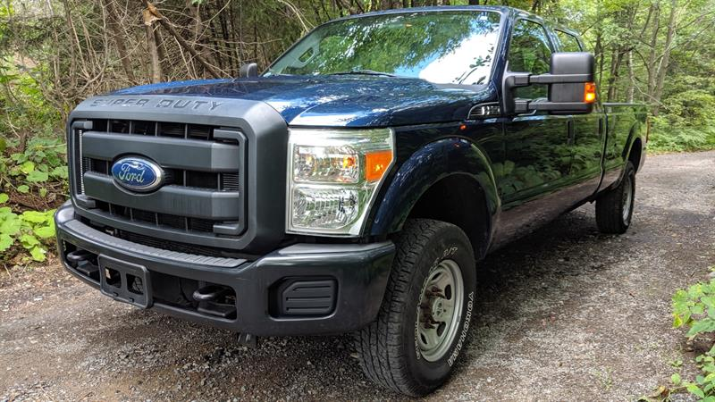 Ford Super Duty F-250 SRW 2011 4WD Crew Cab #K7708