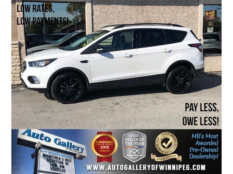 2018 Ford Escape Titanium *AWD/Navi/B.tooth/Htd 1/2 Lthr/Pano Roof #24046