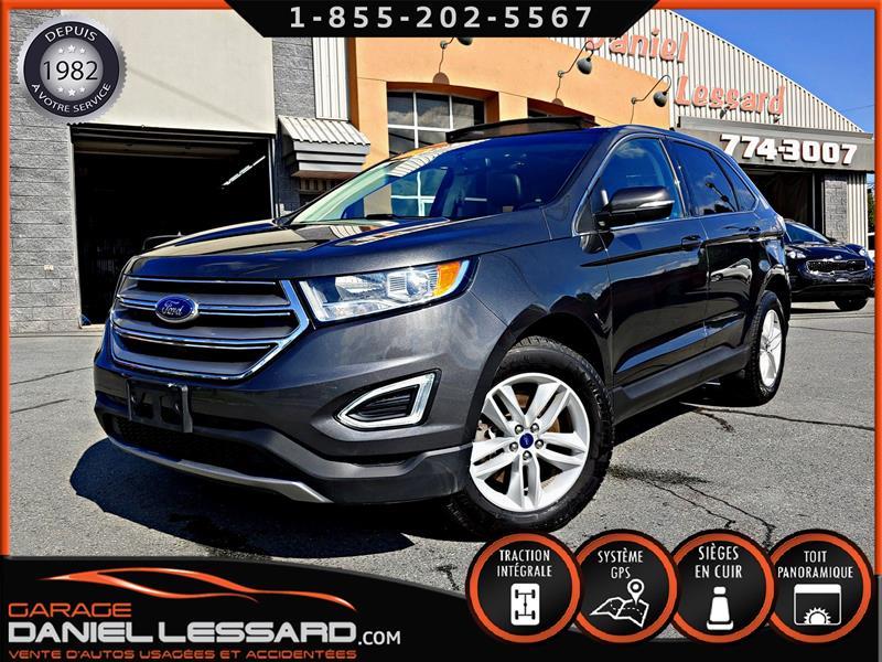 Ford EDGE 2018 SEL AWD, CUIR, GPS, TOIT PANO, VGA COTÉ DROIT #89130