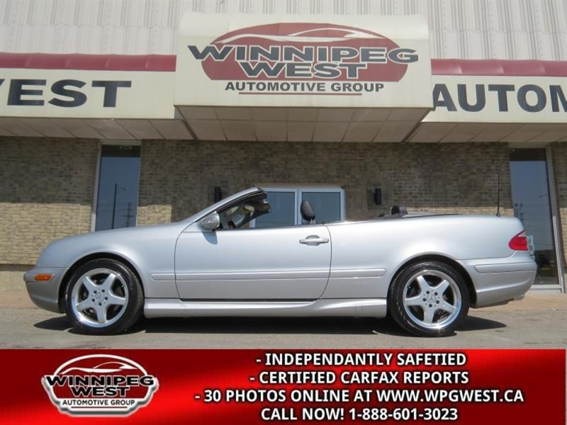 2003 Mercedes-Benz CLK-Class 430 AMG CONVERTIBLE, FULLY LOADED LIKE NEW, LOW K #W5236