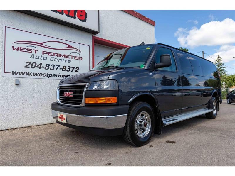 2017 GMC Savana 3500 LT **15 PASSENGER**NAV**REMOTE START**PWR SEATS** #5606