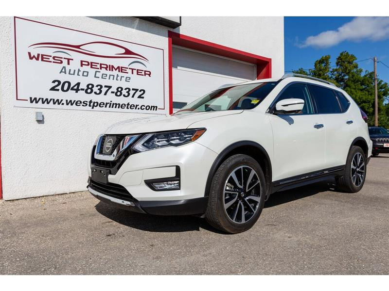 2017 Nissan Rogue SL Htd. Leather, Panoramic S/roof, Navigation #5623