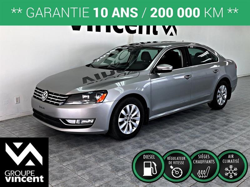 Volkswagen Passat 2014 TRENDLINE TDI ** GARANTIE 10 ANS ** #Z9230M