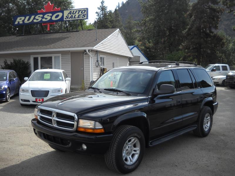 2002 Dodge Durango SLT 4X4, THIRD ROW SEAT #8012-1