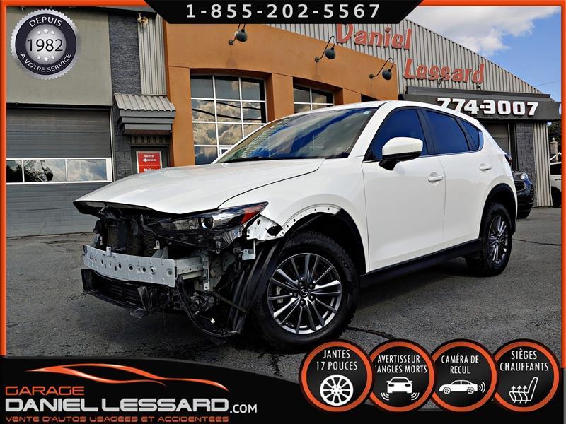 Mazda CX-5 2018 GS FWD, 2.5 L, AUTO, ANGLE MORT, CAM RECUL. #89531