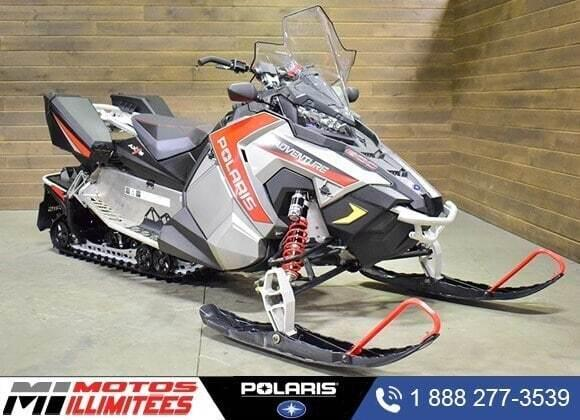 Polaris 600 SWITCHBACK ADVENTURE 2015