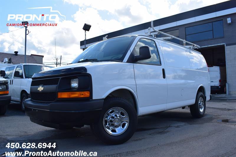 Chevrolet Express Cargo Van 2012 2500 ** 4.8L ** Gr. Électrique ** Full rack **  #1970