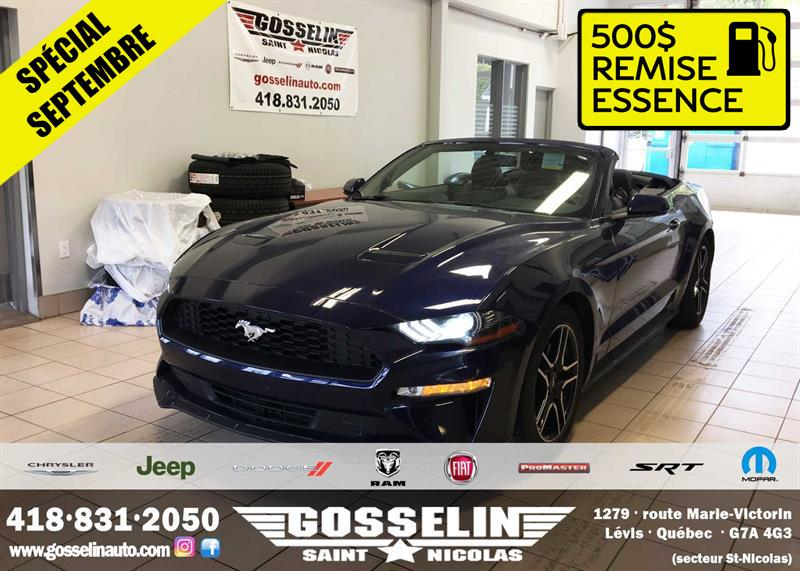Ford Mustang 2018 EcoBoost Convertible #9803A