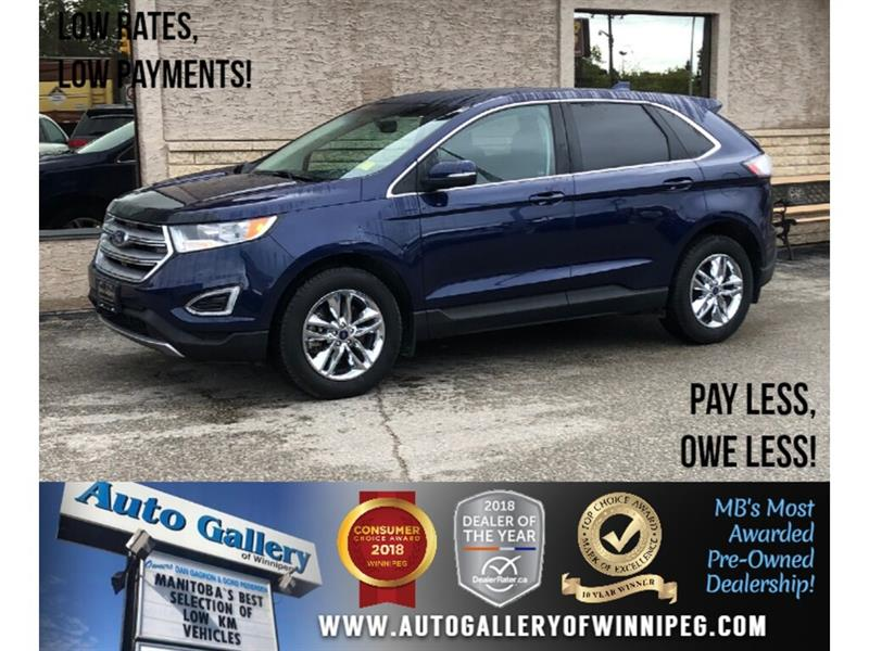 2016 Ford EDGE SEL *AWD/B.tooth/Back.Cam/Htd Seats/2.0L #24073